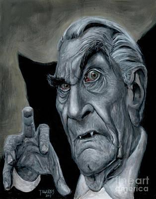 Martin Landau As Bela Poster by Mark Tavares