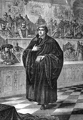 Martin Luther Poster by Collection Abecasis