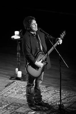 Martin Sexton On Guitar 2 Poster by Jennifer Rondinelli Reilly - Fine Art Photography