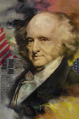 Martin Van Buren Poster by Corporate Art Task Force