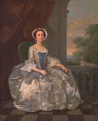 Mary Hoadly, C.1742 Poster by William Hogarth