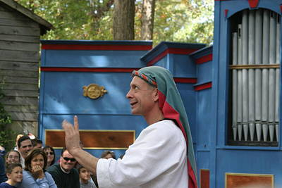 Maryland Renaissance Festival - A Fool Named O - 121240 Poster by DC Photographer