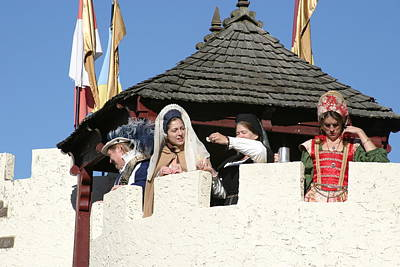 Maryland Renaissance Festival - Open Ceremony - 12124 Poster by DC Photographer