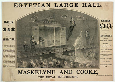 Maskelyne And Cooke Poster by British Library
