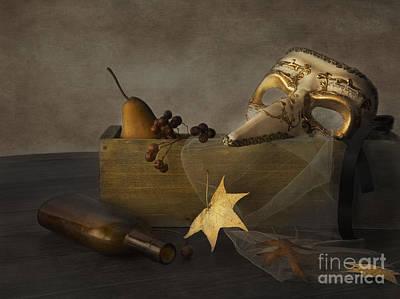 Masquerade Poster by Elena Nosyreva