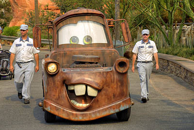 Mater And Friends Poster by Ricky Barnard