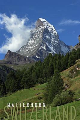 Matterhorn Poster by Ron Sumners