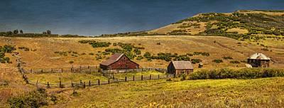 Mattie's Ranch Poster by Priscilla Burgers
