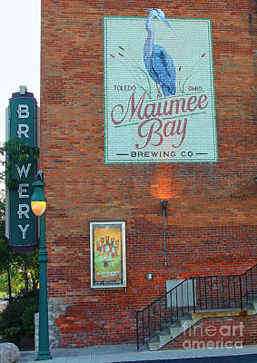 Maumee Bay Brewing Company 2135 Poster by Jack Schultz