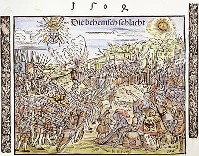 Maximilian I In Battle, 1504 Poster by Granger