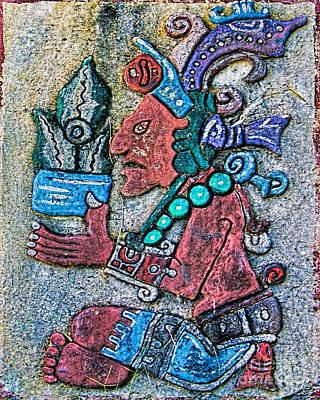 Maya Legends Poster by Olga Hamilton