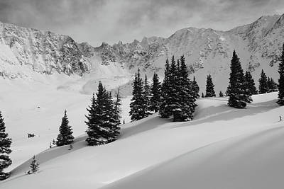 Mayflower Gulch Monochrome Poster by Eric Glaser