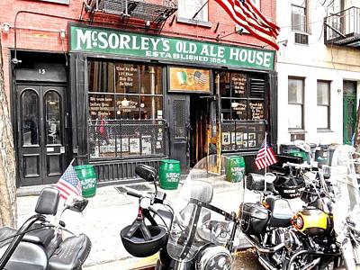 Mcsorley's Old Ale House Poster by Joan Reese