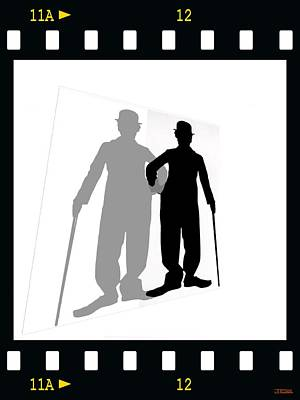 Me And My Shadow Poster by Jann Paxton