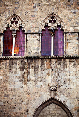 Medieval Architecture In Siena Italy Poster by Kim Fearheiley