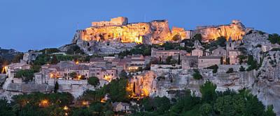 Medieval Town Of Les Baux De-provence Poster by Brian Jannsen