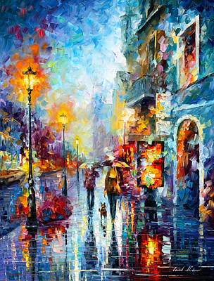 Melody Of Passion Poster by Leonid Afremov