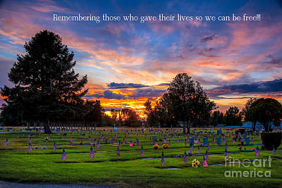 Memorial Day Remembrance Poster by Robert Bales