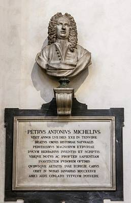Memorial To Petrus Antonius Michelius Poster by Brian Gadsby