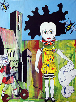Memories Of Present Poster by Sanne Rosenmay