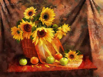 Memories Of Summer Poster by Marina Likholat
