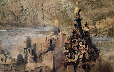 Memory Of Spain Poster by Victor Hugo