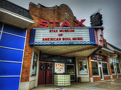 Memphis - Stax Records 001 Poster by Lance Vaughn