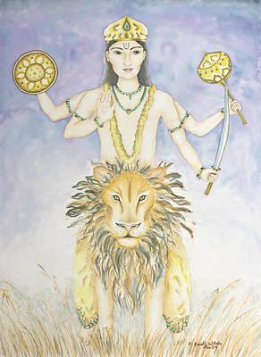 Budha Mercury Poster by Srishti Wilhelm