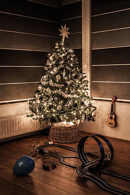 Merry Christmas Poster by Semmick Photo