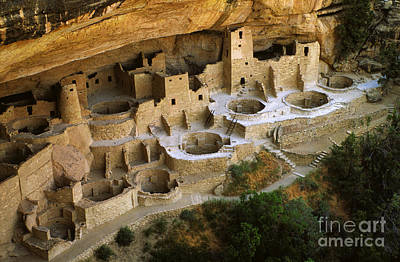 Mesa Verde Cliff Palace Poster by Bob Christopher