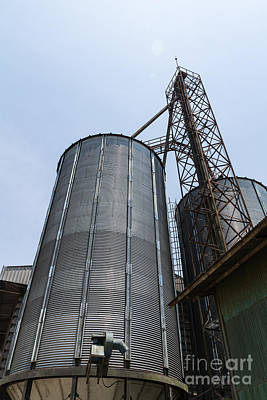Metal Silo  Poster by Tosporn Preede