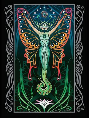 Metamorphosis V.2 Poster by Cristina McAllister