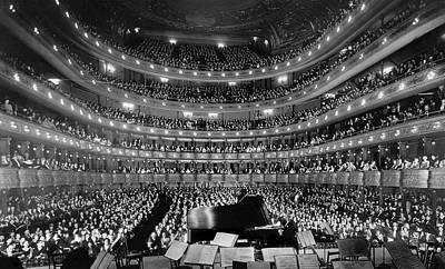 Metropolitan Opera House 1937 Poster by Mountain Dreams