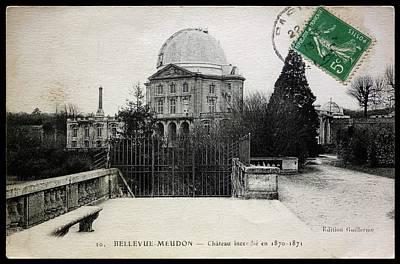 Meudon Grand Lunette Observatory Poster by Detlev Van Ravenswaay