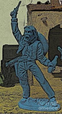 Mexican Bandito Poster by John Malone