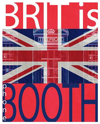 Mgl - Travel Brit Is 01 Poster by Joost Hogervorst