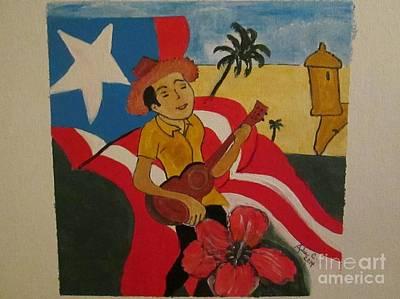 Mi Linda Tierra Poster by Julie Crisan