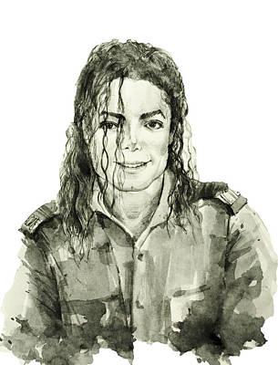 Michael Jackson 4 Poster by Bekim Art