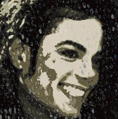 Michael Jackson Concert 3 Poster by Yury Malkov