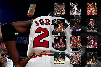 Michael Jordan Poster by Joe Hamilton