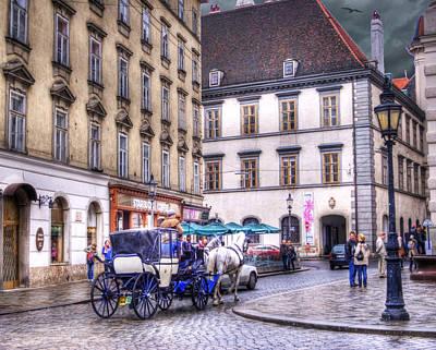 Michaelerplatz. Vienna Poster by Juli Scalzi