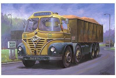Mickey Mouse Foden. Poster by Mike  Jeffries
