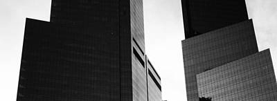 Mid Section View Of Buildings, Time Poster by Panoramic Images
