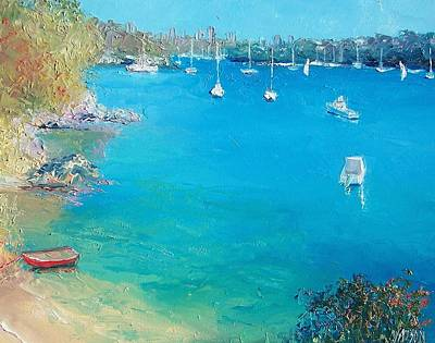Middle Harbour Sydney Poster by Jan Matson