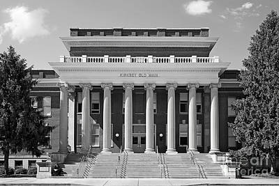 Middle Tennessee State Kirksey Old Main Poster by University Icons