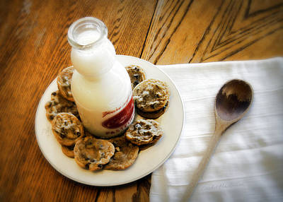 Milk And Cookies Poster by Cricket Hackmann