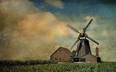 Mill Poster by Heike Hultsch