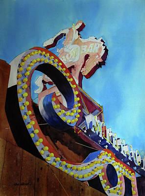 Million Dollar Cowboy Poster by Kris Parins