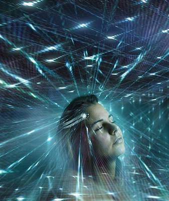 Mind Control, Conceptual Artwork Poster by Science Photo Library