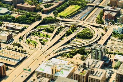 Mini Motorway Poster by Andrew Paranavitana